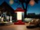 Die tragbare Philips Abelia LED-Laterne