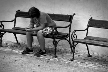 ich fühle mich einsam