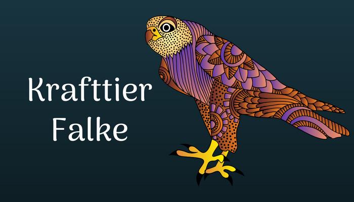 Das Krafttier Falke finden