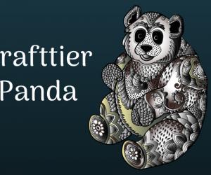 Der Panda hilft dir als Krafttier