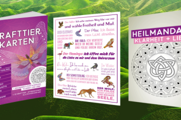 Krafttier Krafttiere Mandala Gratis Buch