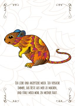 Maus Krafttierkarte