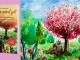 Kirschbaum wir dürfen dem Leben vertrauen