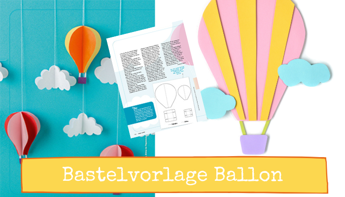 Basteln PDF Download Ballon